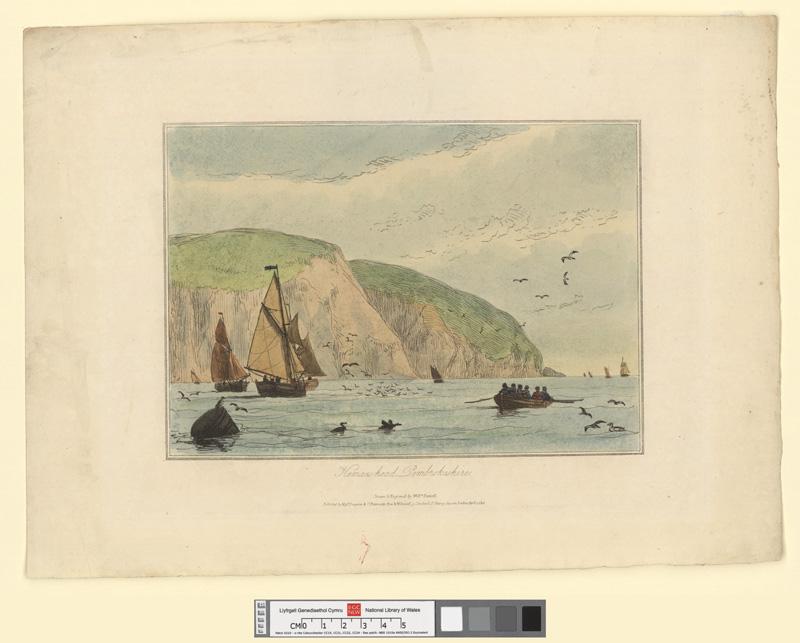 Kemaes-head, Pembrokeshire April 1 1815