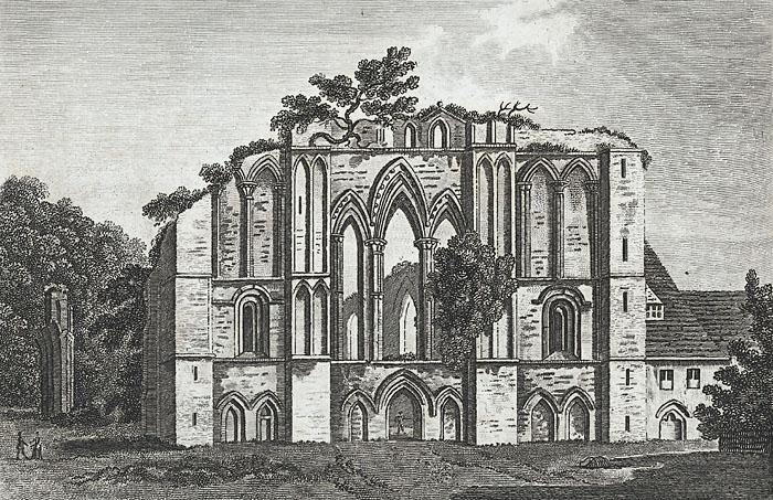 Lantony monastery, Monmouthshire