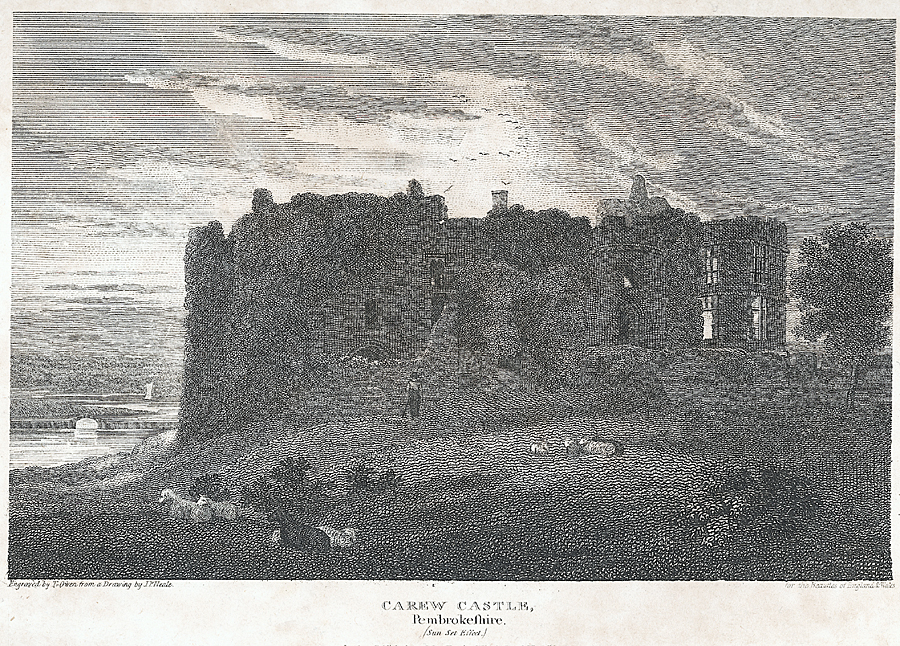 Carew Castle, Pembrokeshire