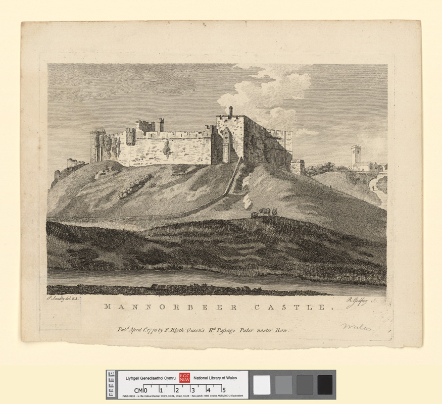 Mannorbeer Castle April 1st 1778