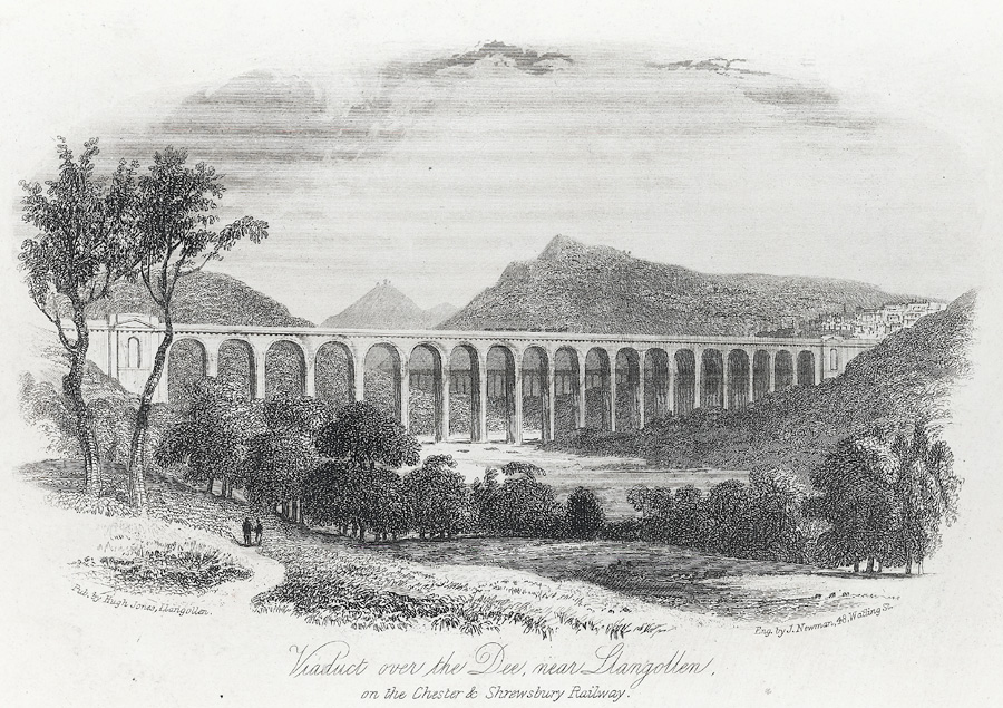 Viaduct over the Dee near Llangollen