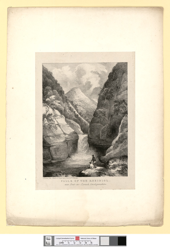 Falls of the Rheidiol