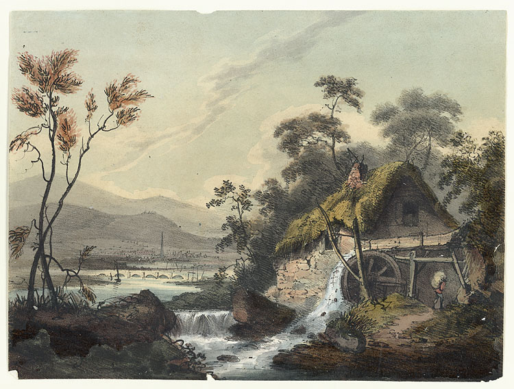 [Old Mill, near Monmouth]