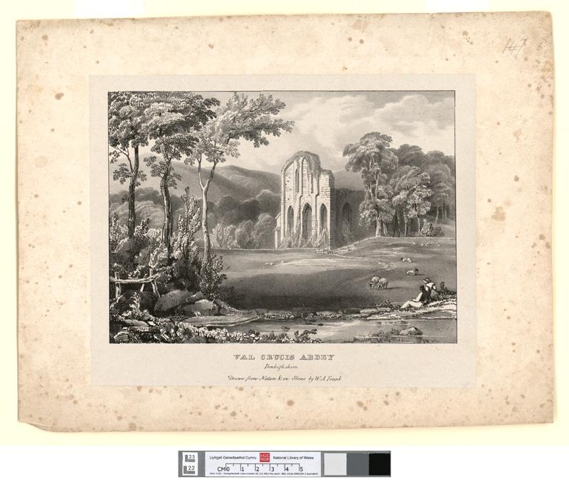 Val Crucis Abbey, Denbighshire