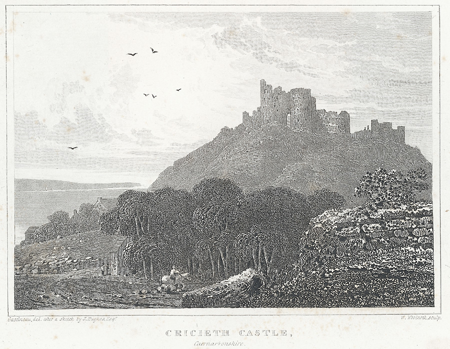 Cricieth Castle, Caernarvonshire