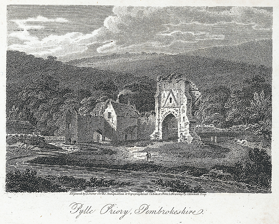 Pylle Priory, Pembrokeshire