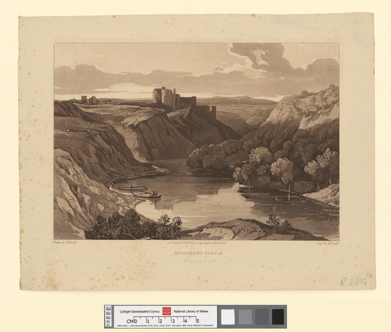 Kilgarren castle, Cardiganshire March 2nd 1829