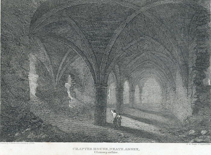 Chapter house, Neath Abbey, Glamorgan