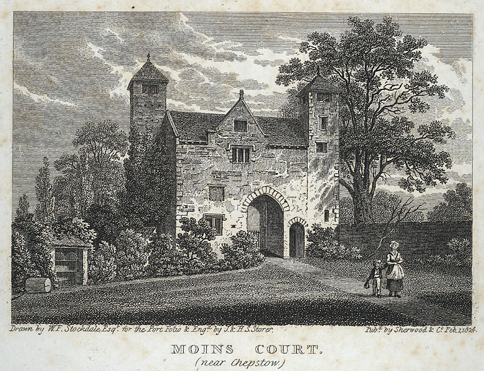 Moins court, near Chepstow