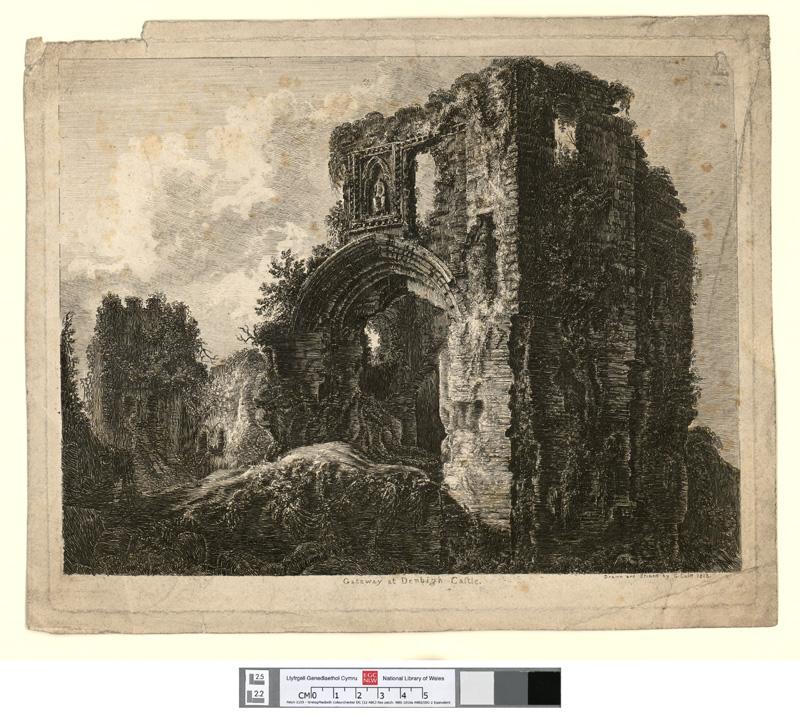 Gateway at Denbigh castle