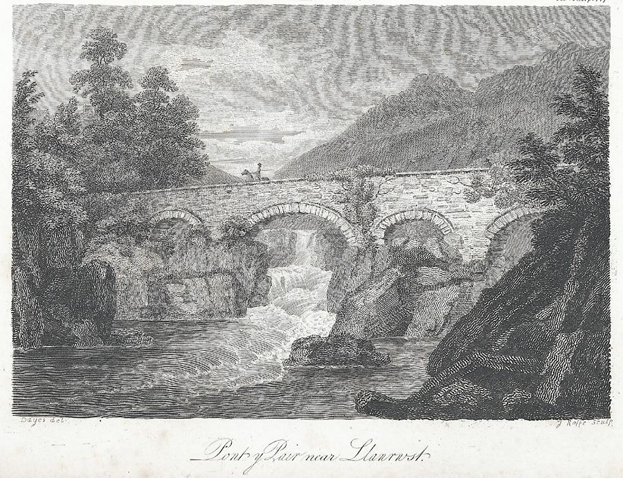 Pont y Pair near Llanrwst