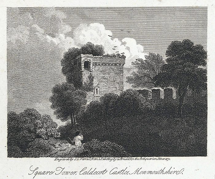 Square Tower, Caldecot Castle, Monmouthshire
