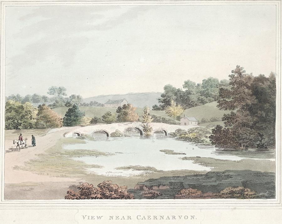 View near Caernarvon