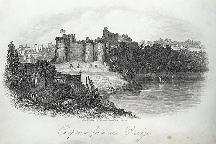 Chepstow, from the bridge