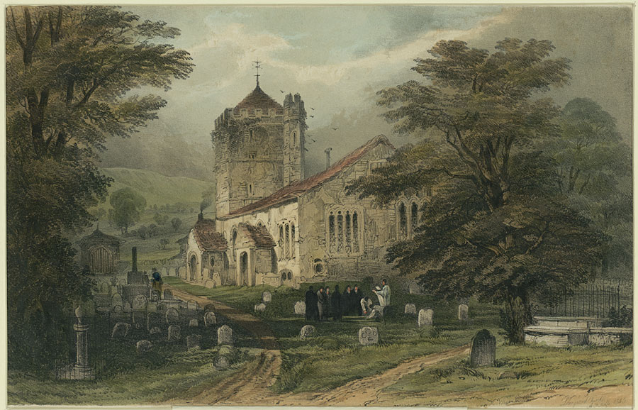 Llangattock Church
