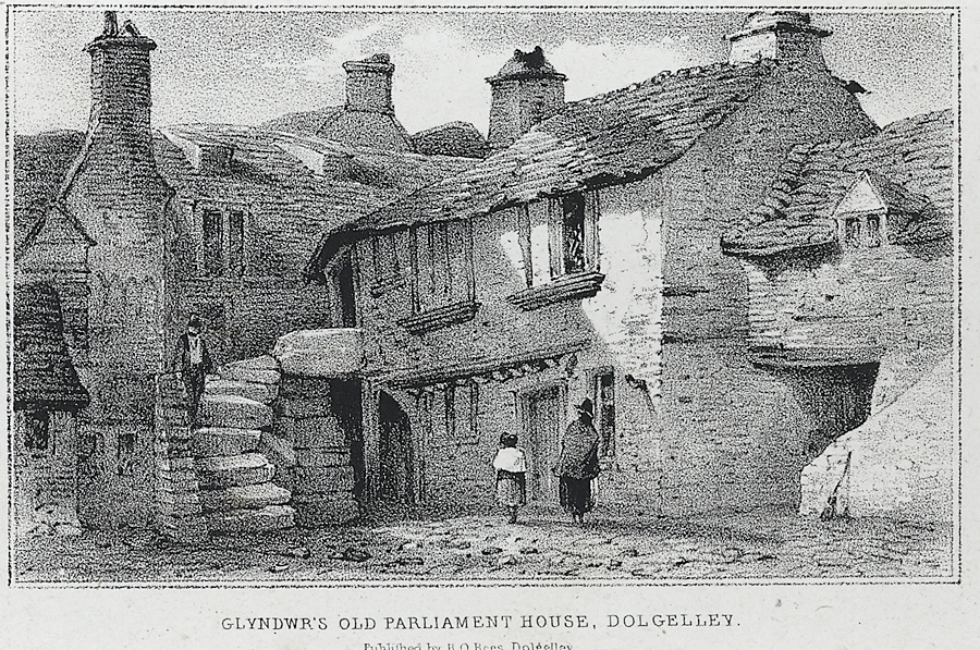 Glyndwr's old parliament house, Dolgelley