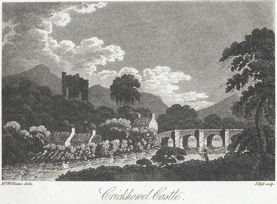 Crickhowel Castle