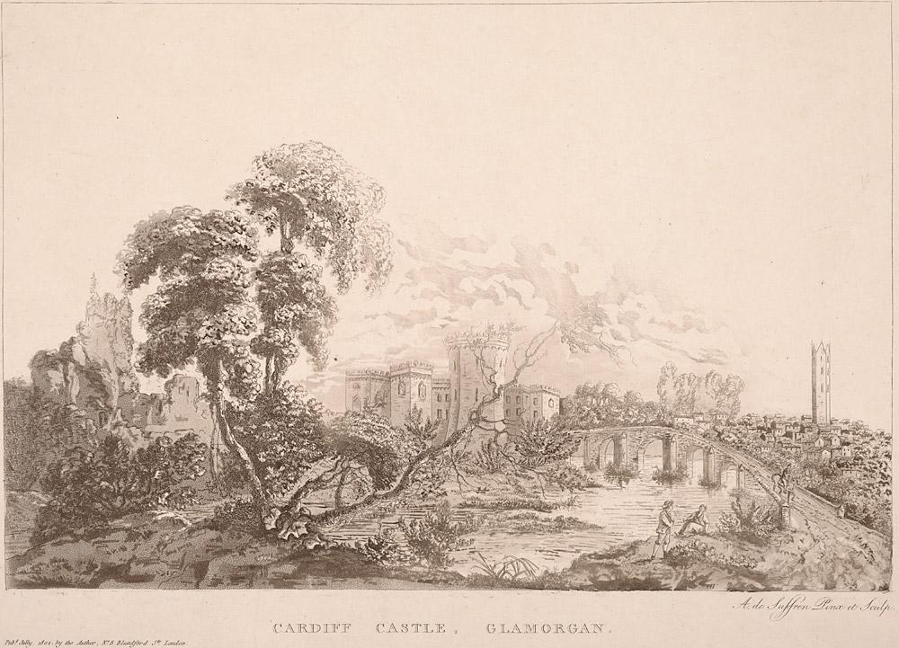 Cardiff castle, Glamorgan