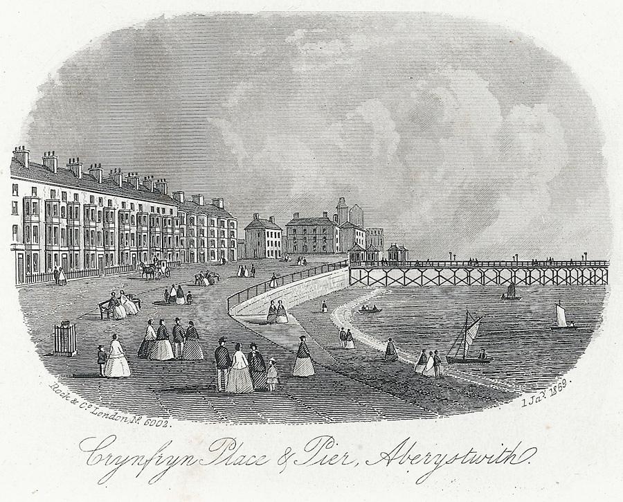 Crynfryn Place & Pier, Aberystwith