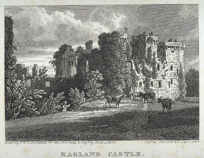 Ragland Castle, (Monmouthshire)