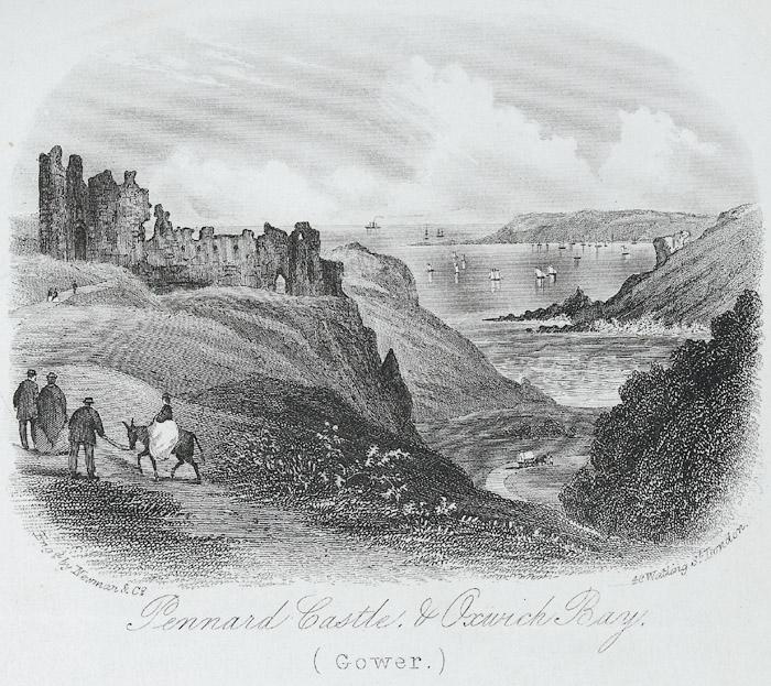 Pennard castle, & Oxwich bay, Gower