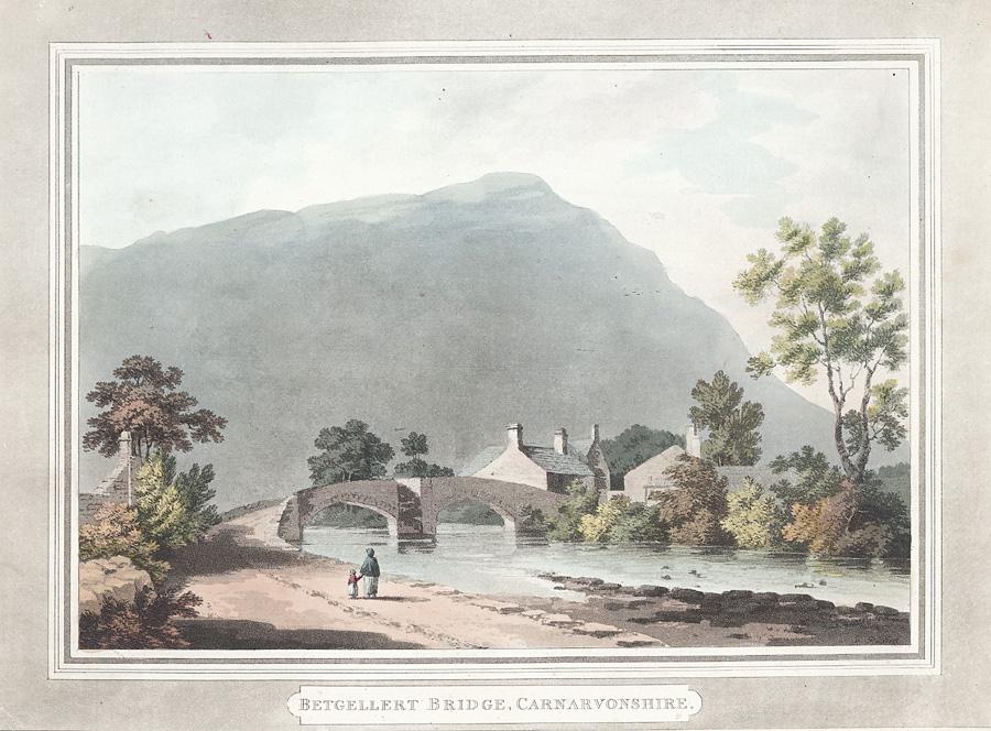 Betgellert bridge, Carnarvonshire
