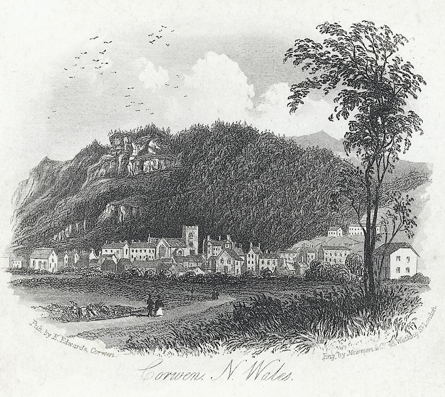 Corwen, N. Wales