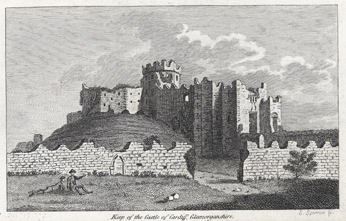 Keep of the castle of Cardiff, Glamorganshire