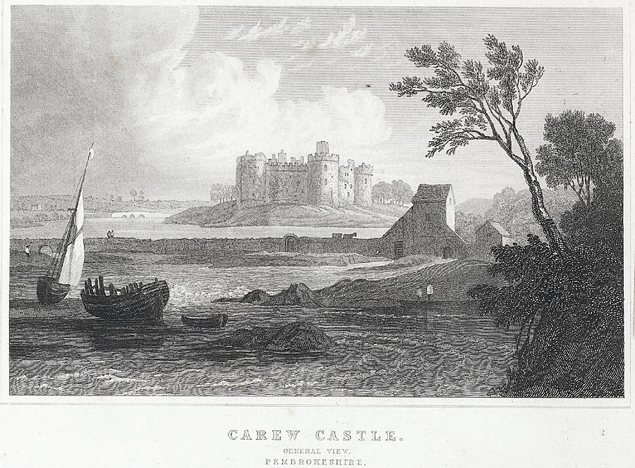Carew Castle. General View
