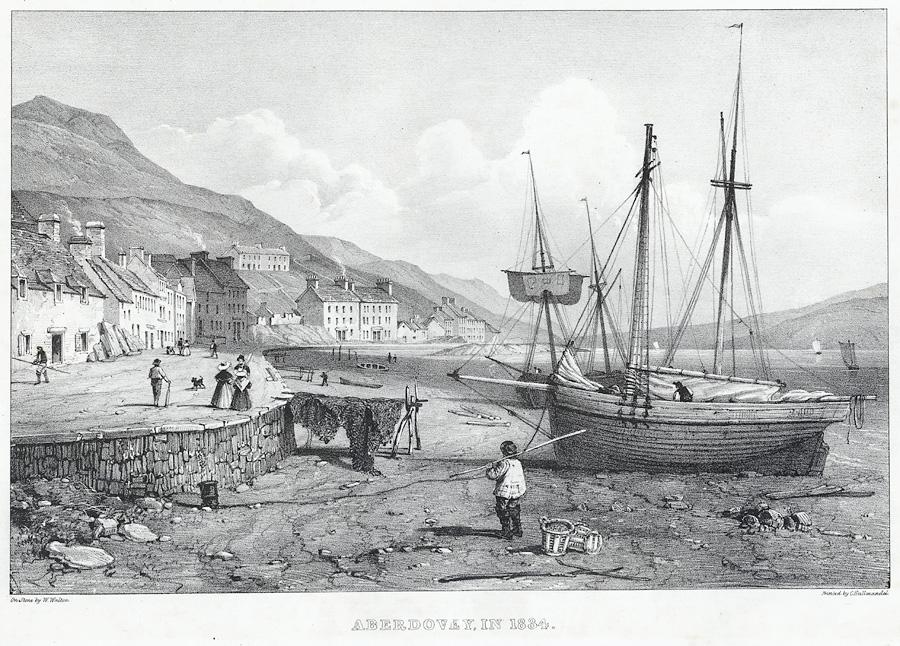 Aberdovey in 1834