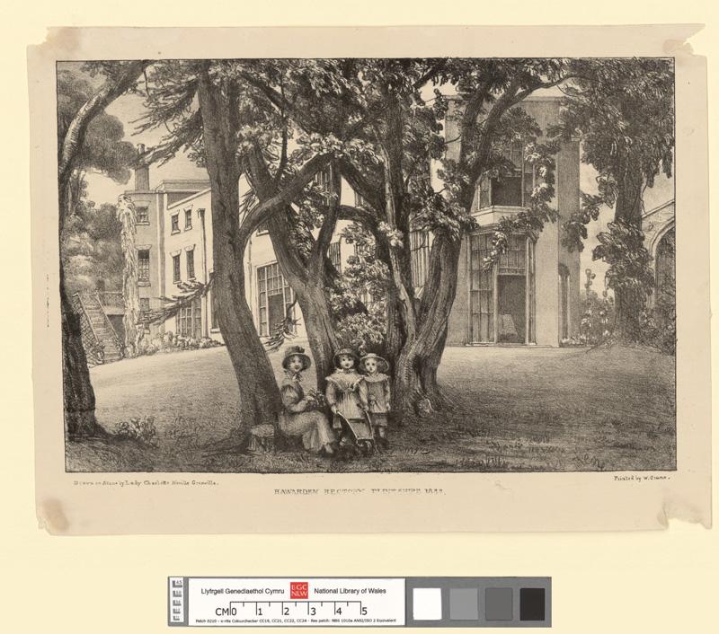Hawarden Rectory, Flintshire, 1832