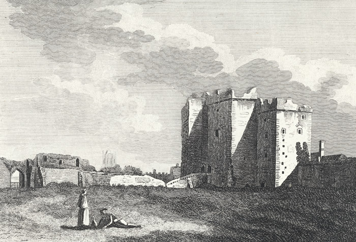 Tower, in Cardiff castle, Glamorganshire