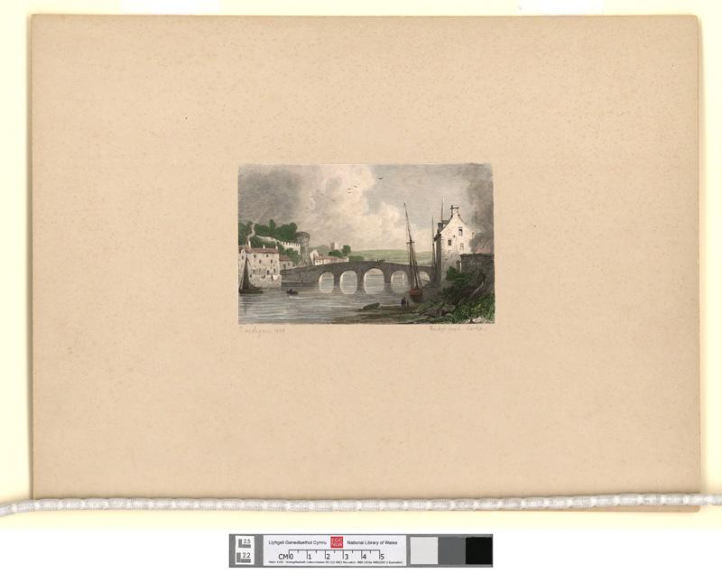 Cardigan Bridge and Castle