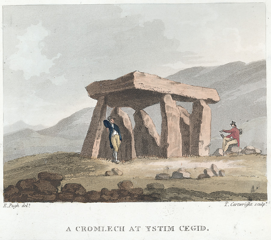 A Cromlech at Ystim Cegid