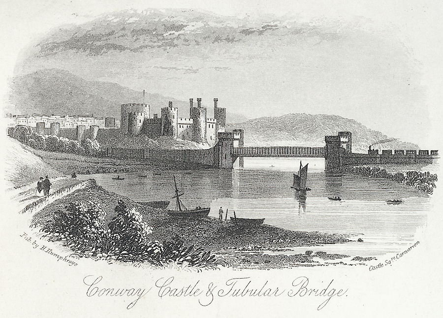 Conway Castle & Tubular Bridge