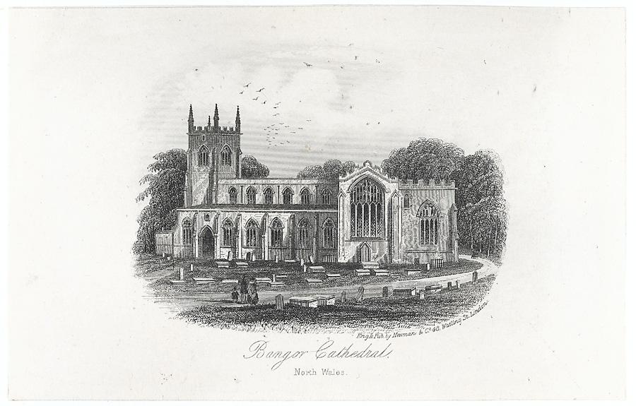 Bangor Cathedral. North Wales