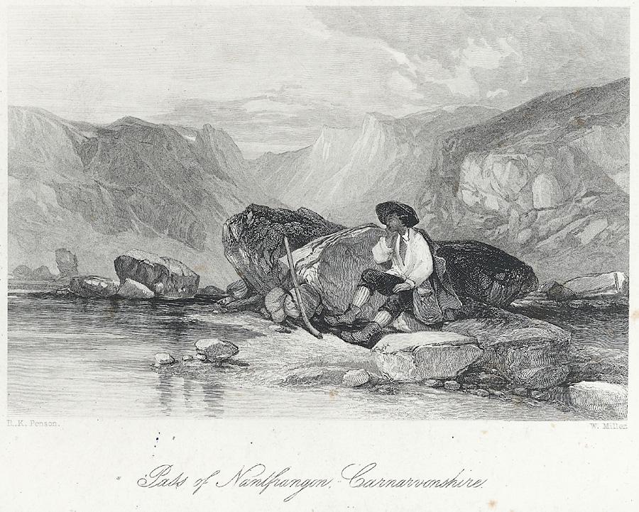 Pass of Nantfrangon, Carnarvonshire