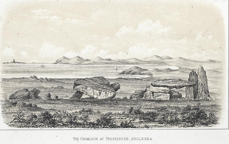 The cromlech at Trefigneth, Anglesea
