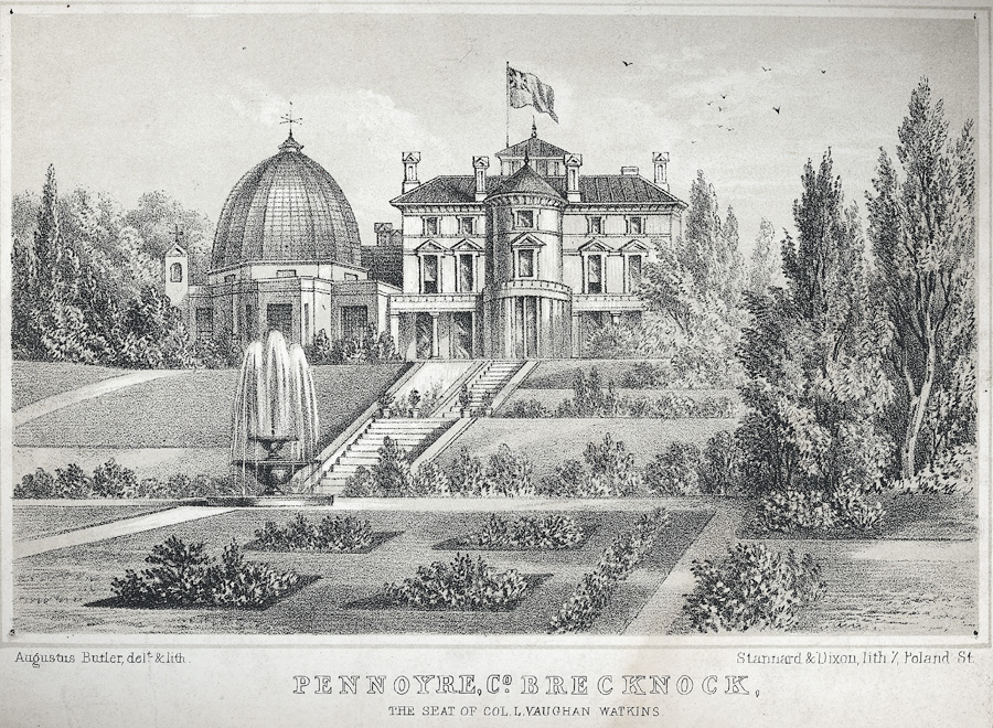 Pennoyre, Co. Brecknock
