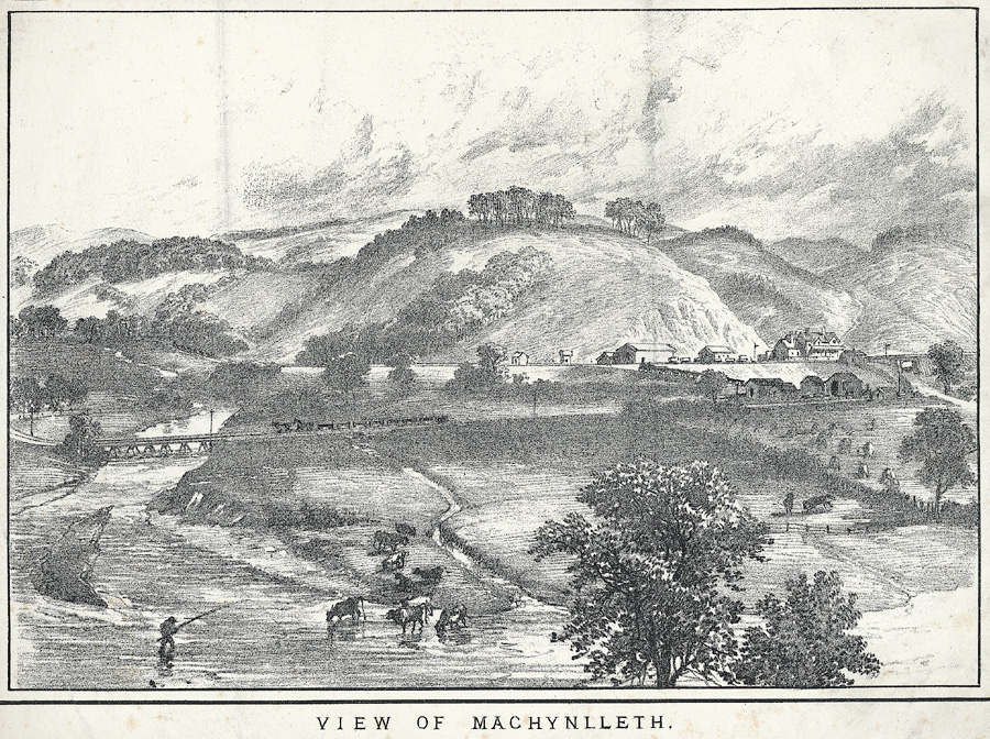View of Machynlleth