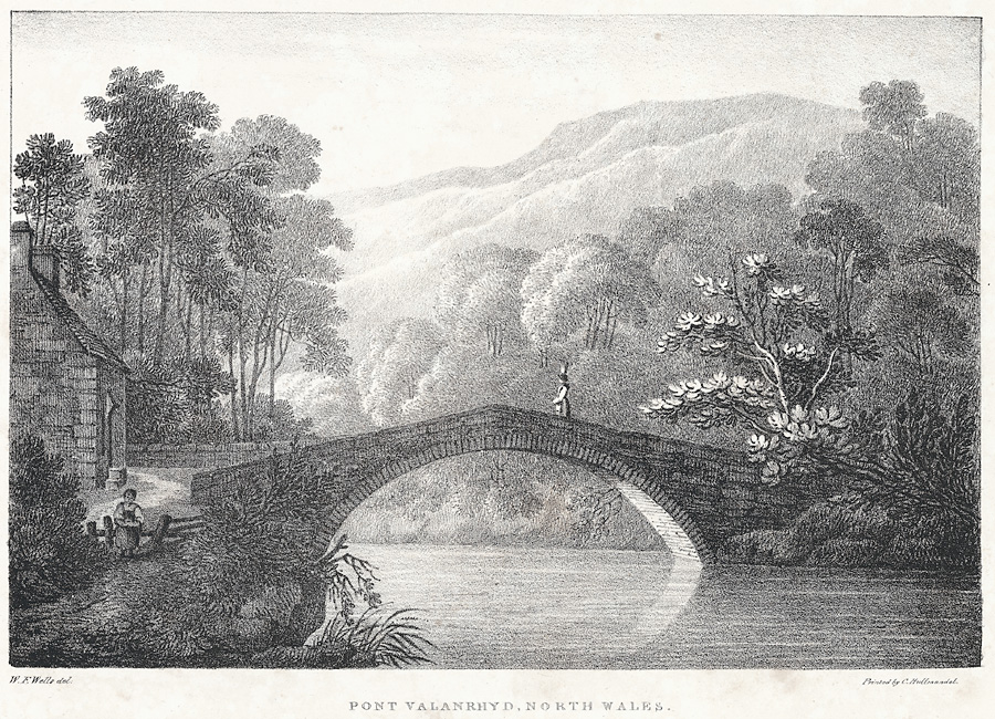 Pont Valanrhyd, north Wales