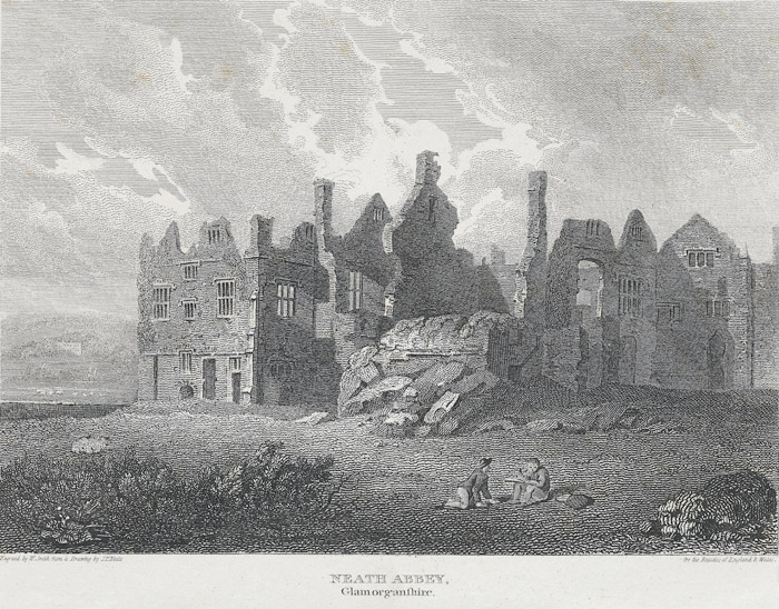 Neath Abbey, Glamorganshire