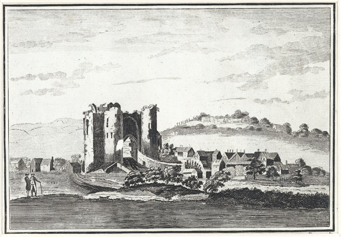 Neath Castle, in Radnorshire [i.e. Glamorganshire]