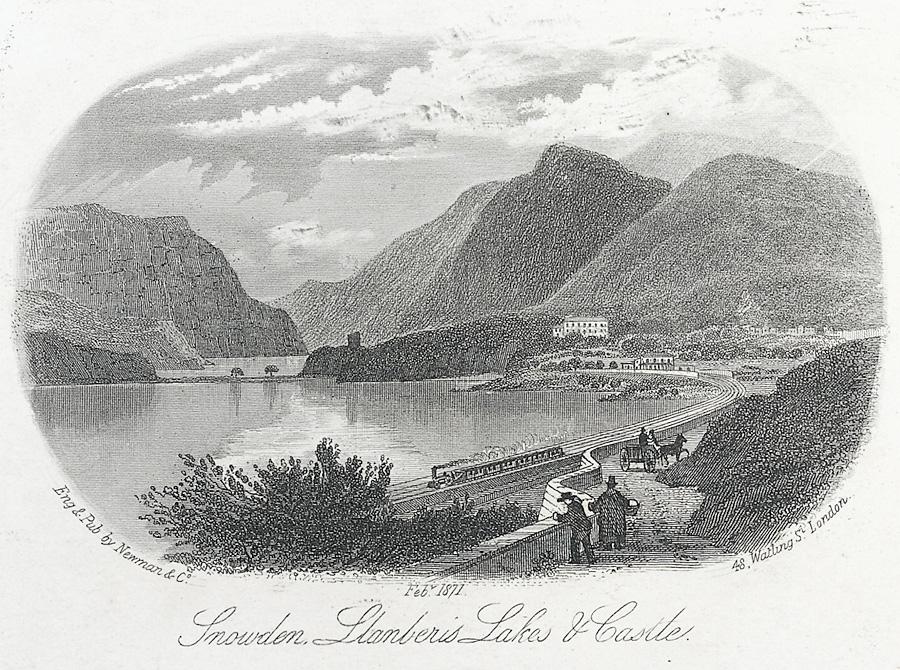 Snowdon, Llanberis Lakes & Castle