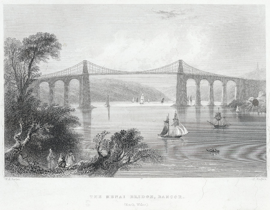 The Menai Bridge, Bangor
