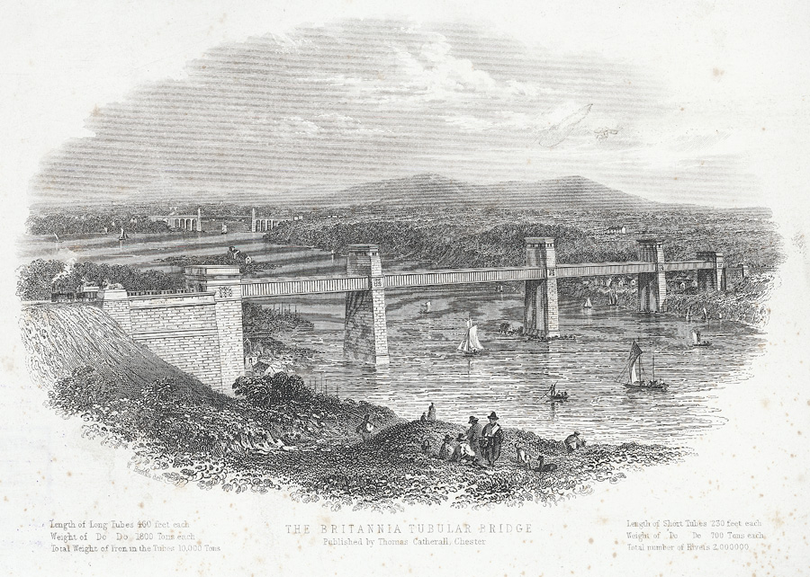 The Britannia tubular bridge
