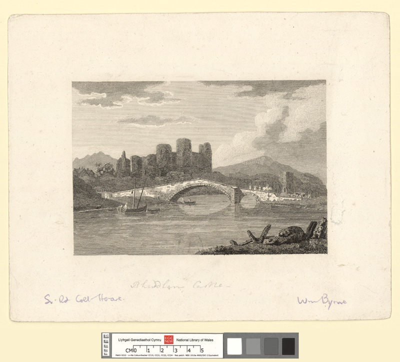 [Rhuddlan Castle and bridge]