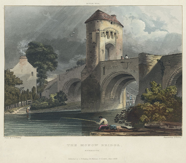 The Monow Bridge, Monmouth