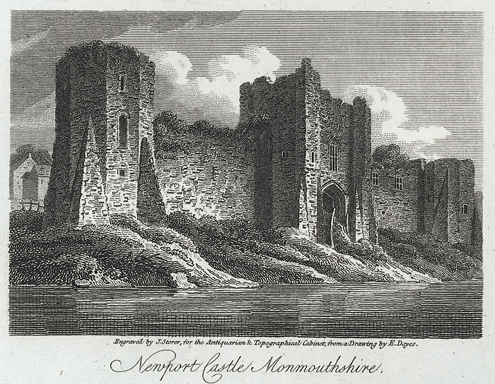 Newport Castle, Monmouthshire