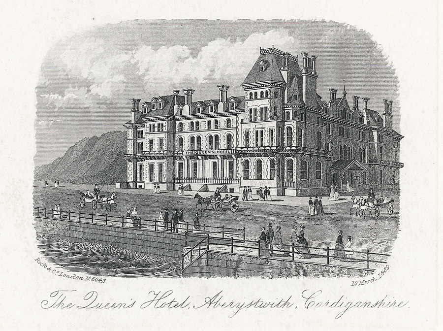 The Queen's Hotel, Aberystwith, Cardiganshire